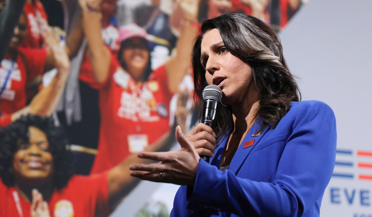 Tulsi Gabbard Cites Project Veritas's Ilhan Omar Video in Call to End Ballot Harvesting