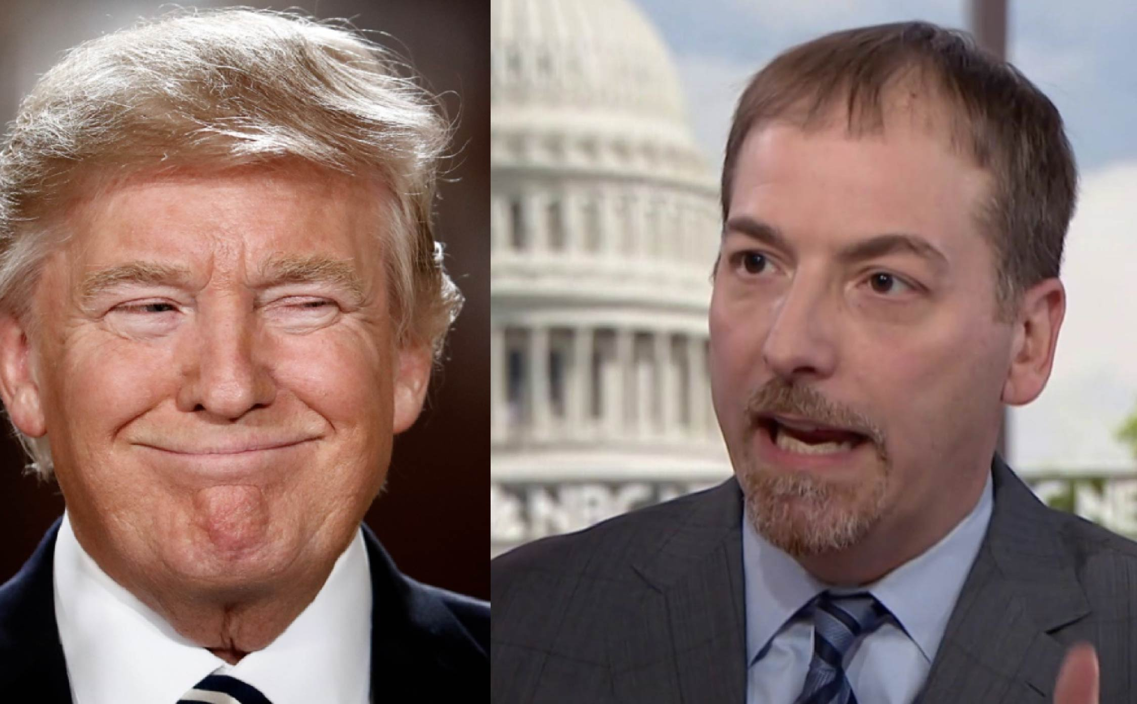 [VIDEO] It Just Dawned on Sleepy Chuck Todd that President Trump Has Drained the Media's Power
