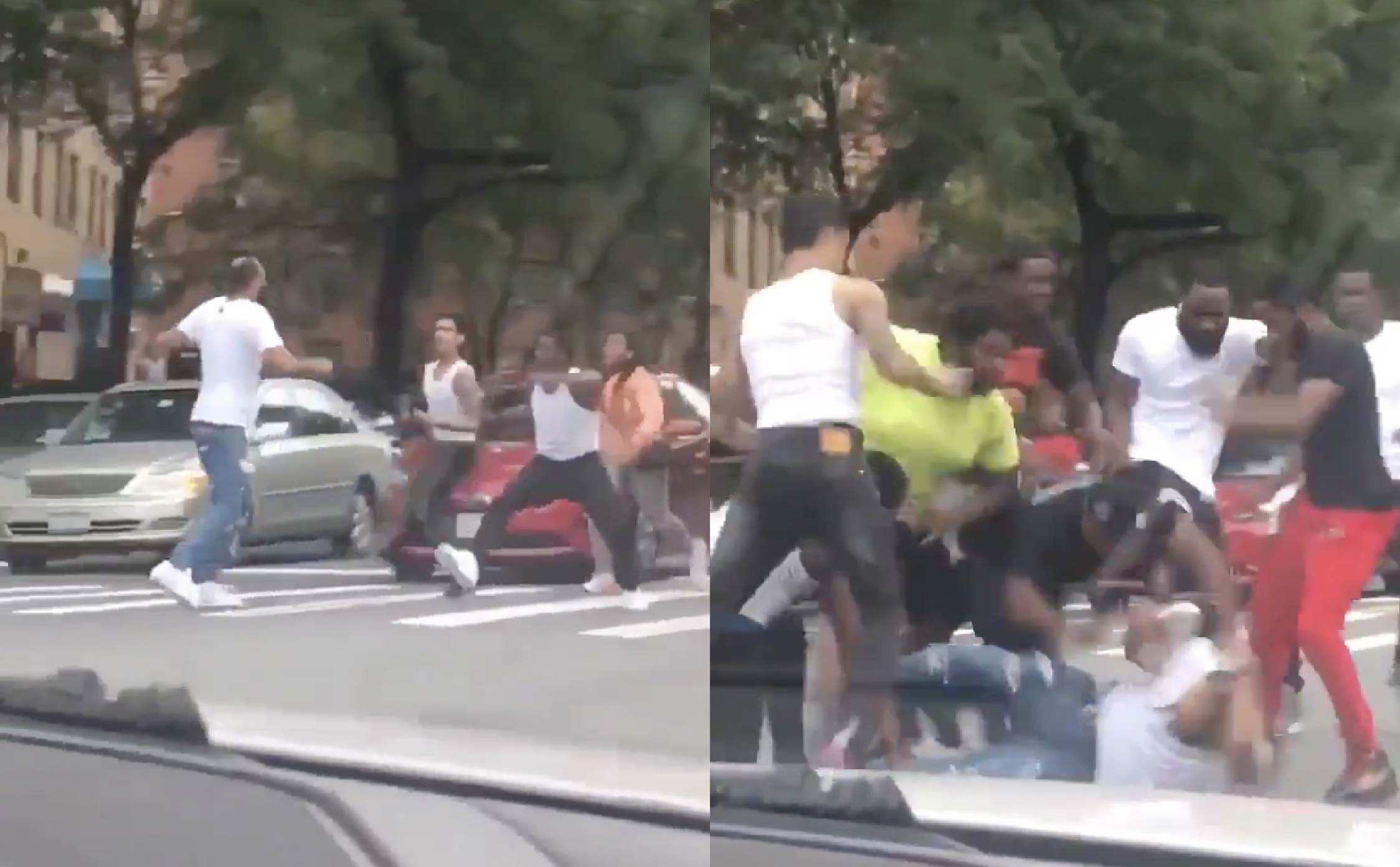 [VIDEO] James Woods Shares Video of New York Man Forced Out of His Car and Beaten Senseless by a Mob in Broad Daylight