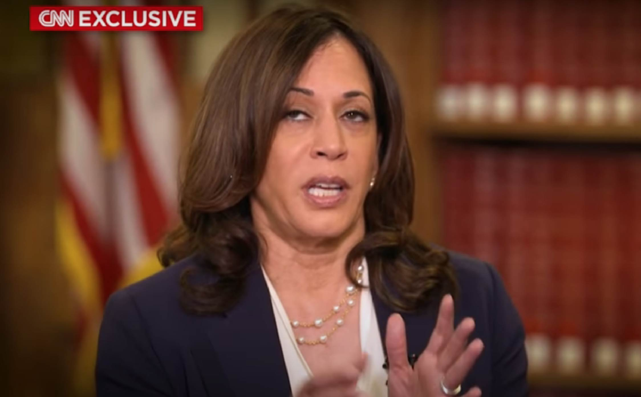 [VIDEO] Kamala Harris Already Admitting Defeat? Claims Russian Interference Could Cost Her and Biden the Election
