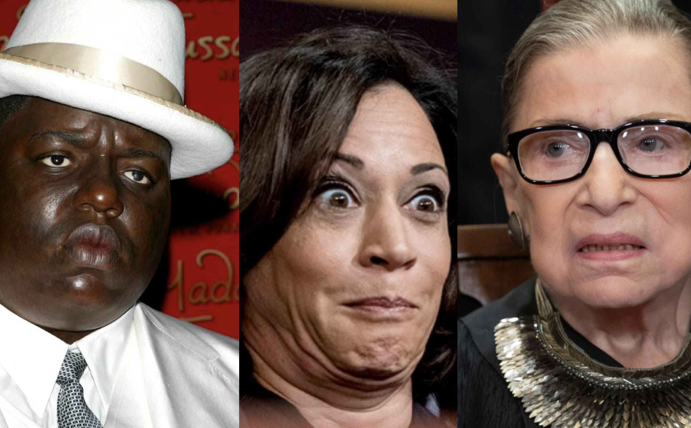 "[VIDEO] Kamala Harris Screws Up and Refers to Justice Ginsburg as Deceased Rapper ""Notorious B.I.G."" in Yet Another Blunder"