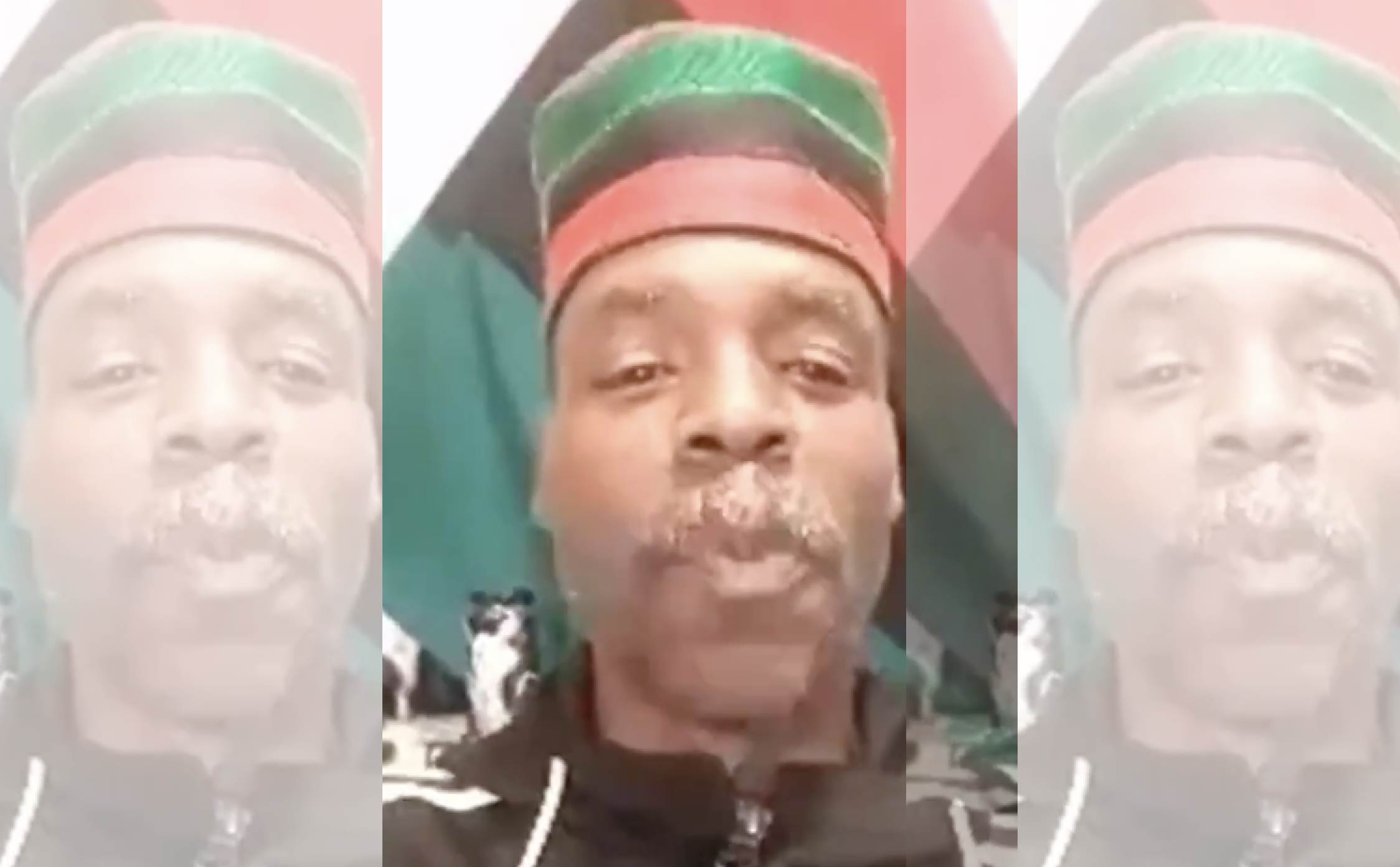 """[VIDEO] Leader of """"Africa Town Coalition"""" Tells Followers to Celebrate Ambush of Two Police Officers Who Were Shot in the Head"""