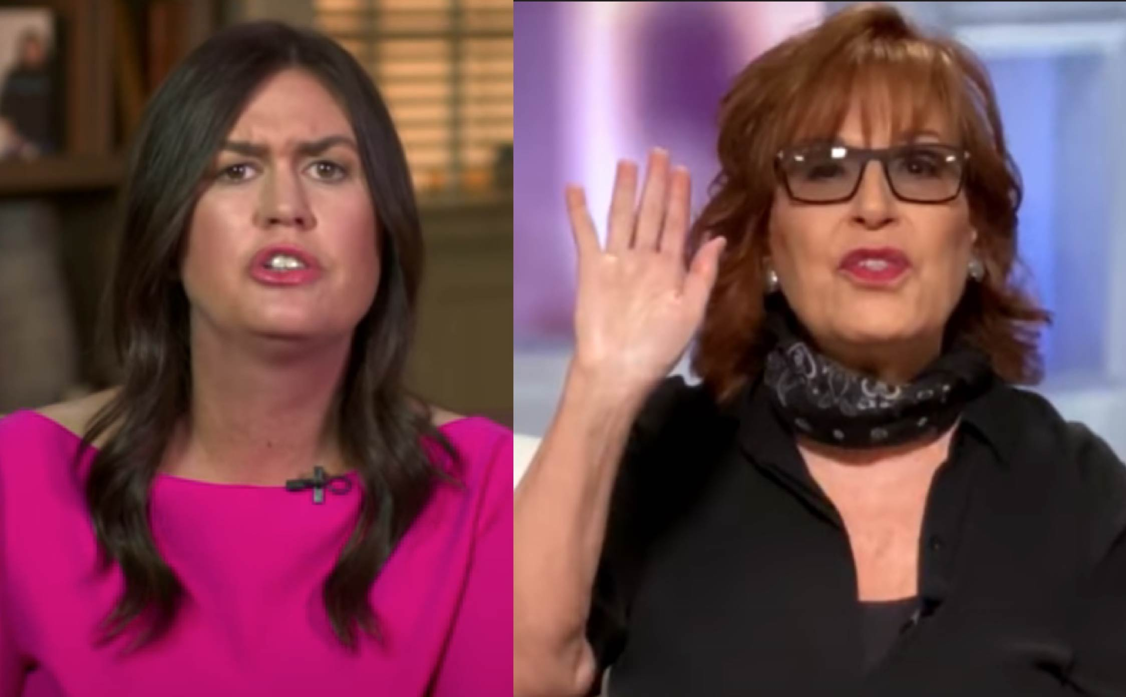 [WATCH] All the Ladies of 'The View' Try to Gang Up and Bully Sarah Sanders
