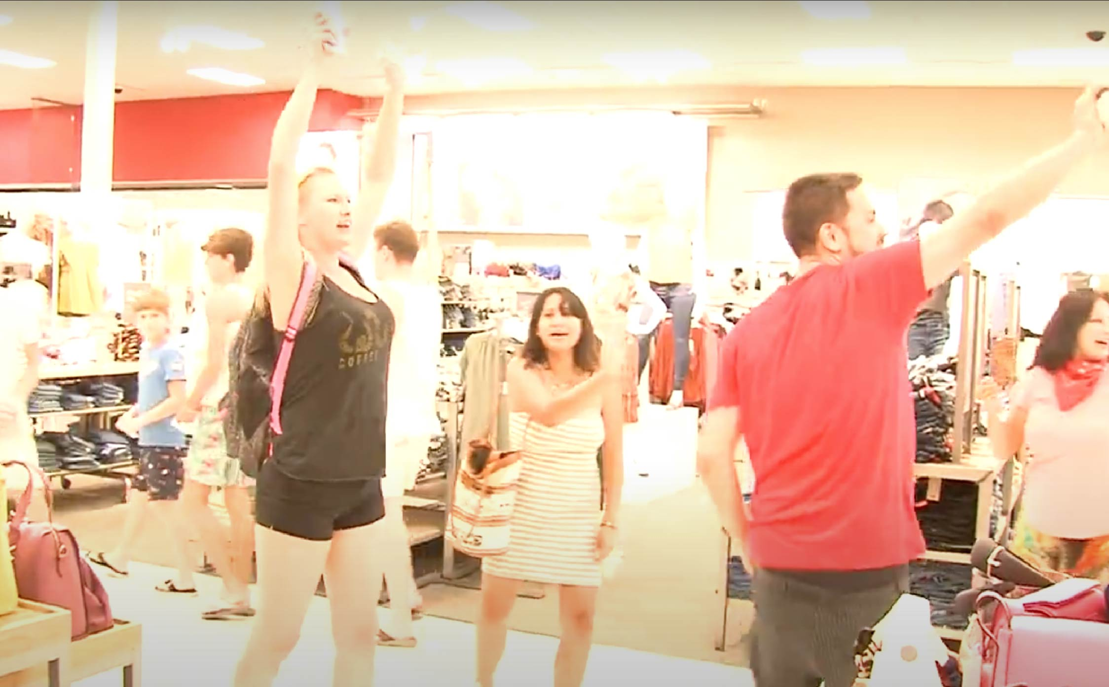 [WATCH] Anti-Mask Flash Mob Invades Target 'Take Off Your Damn Masks! Now!'