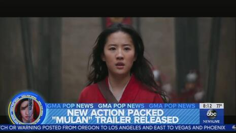 WHORES: ABC News Relentlessly Promoted Mulan, Buries Filming Near Brutal Chinese Camps