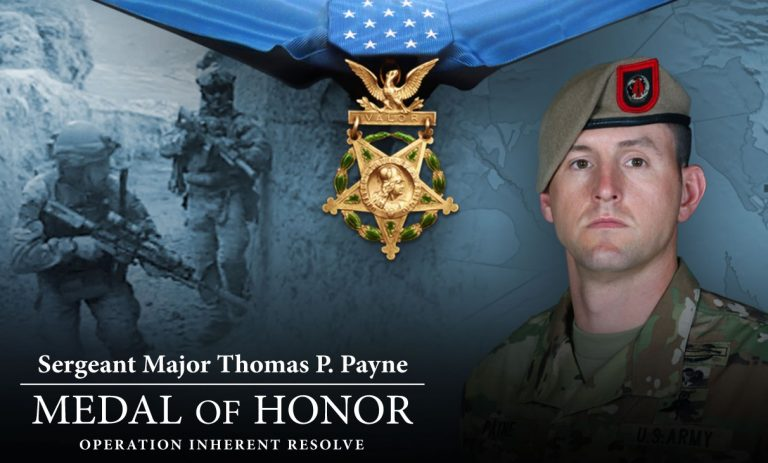 Watch Live: President Trump Presents the Medal of Honor to Sergeant Major Thomas Payne - 9/11/20