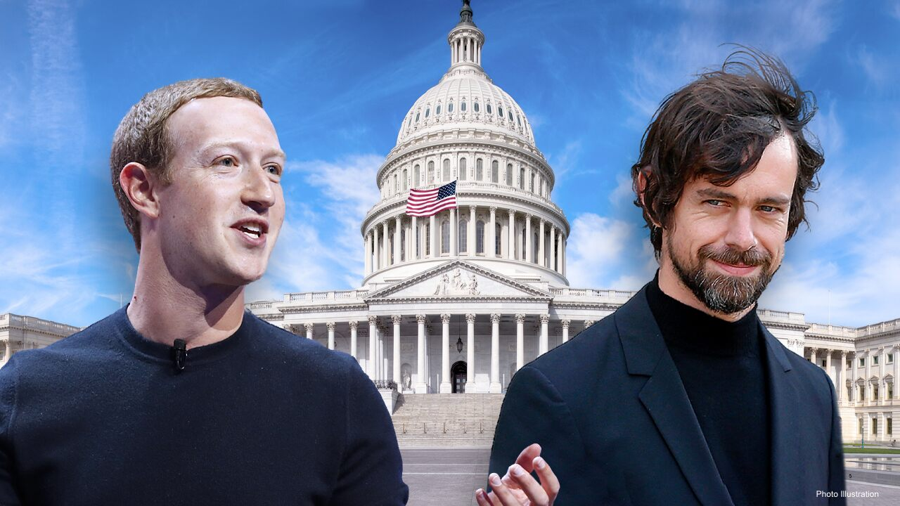 Big Tech CEOs called to testify Wednesday before Senate amid censorship uproar