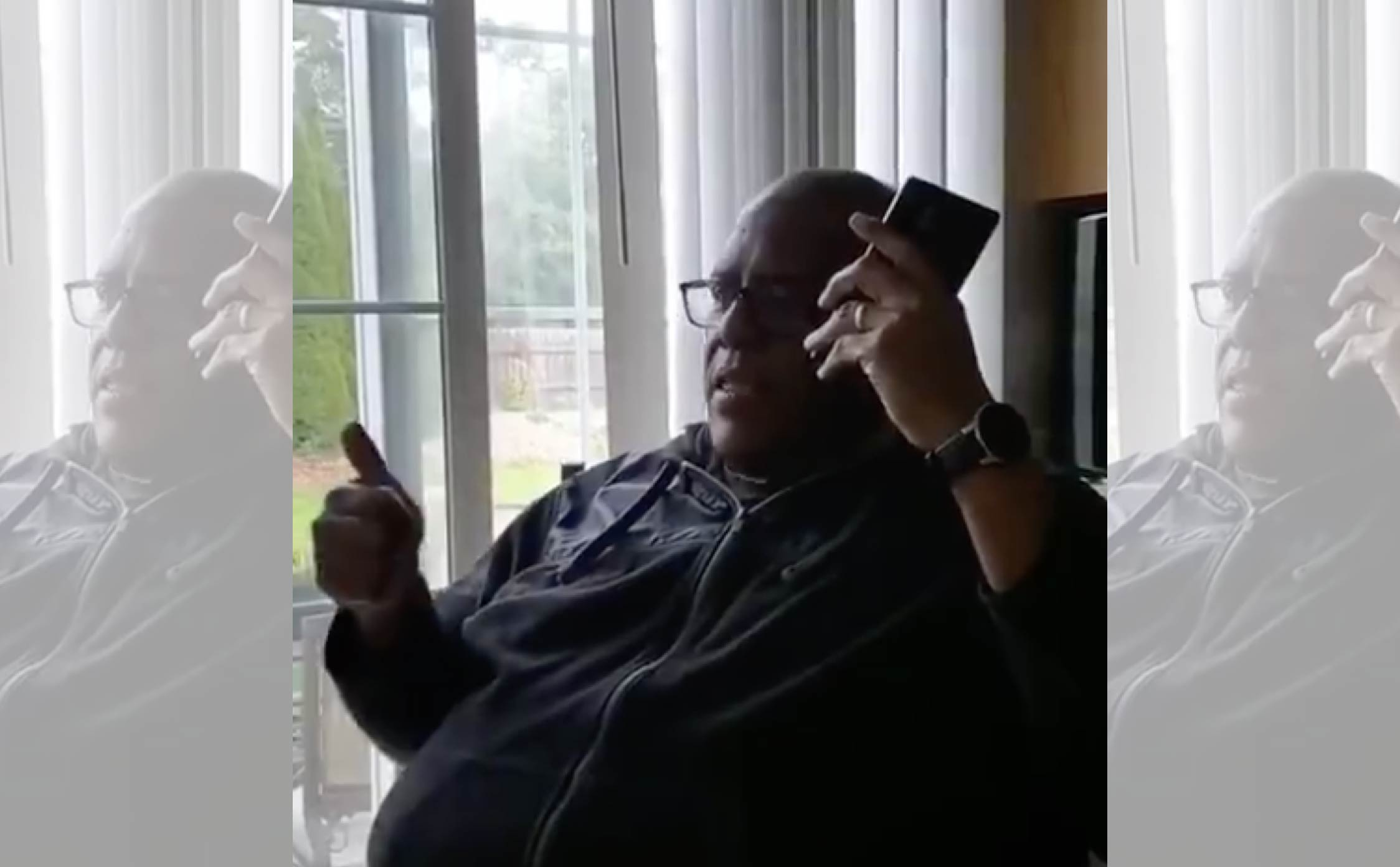 Black Voter Films Himself Telling a Biden Pollster He's Voting For In-Person For Trump