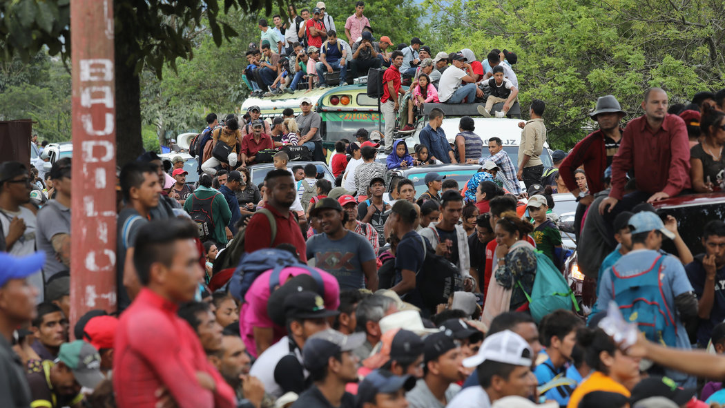 Guatemala Says It Will Detain Around 2,000 Migrants Bound For The US
