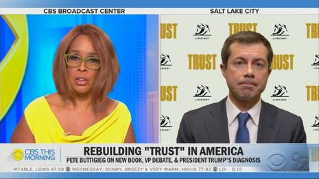 Is CBS's Gayle King Embracing Trump COVID Truther Conspiracies?