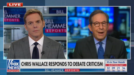 Moderator Wallace: Trump 'Put His Foot' in My 'Beautiful, Delicious Cake'