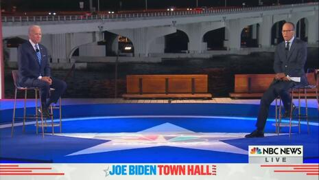NBC Frauds Allow Biden to Skate by in Evening of Softies; Only One Question from the Right