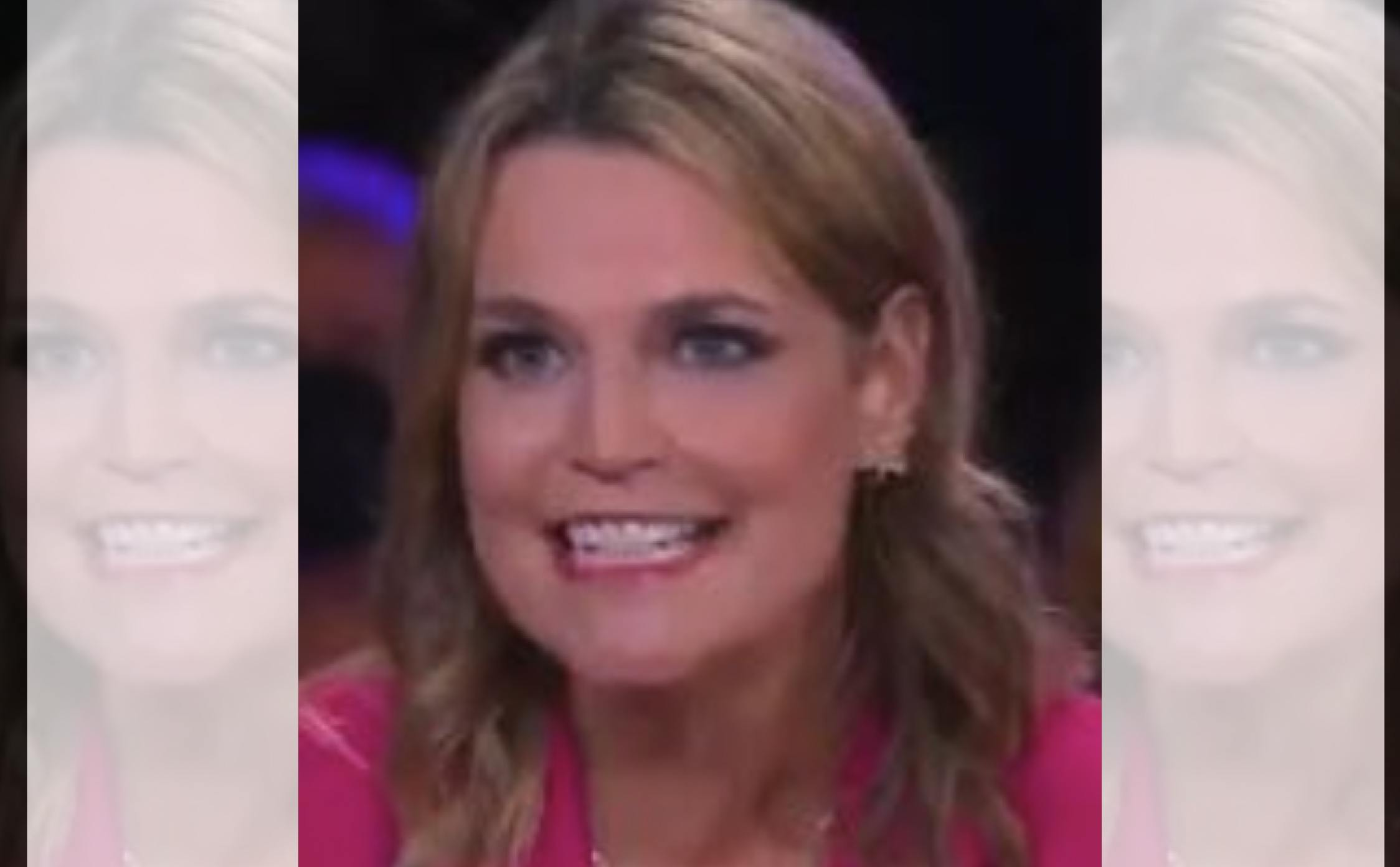 """NBC's Savannah Guthrie is Getting Pummeled Online for Having """"Mental Breakdowns"""" During Trump's Town Hall"""