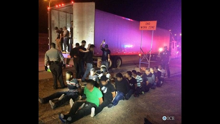 Photo of Nearly 300 Illegal Aliens Apprehended in Eighteen Hours