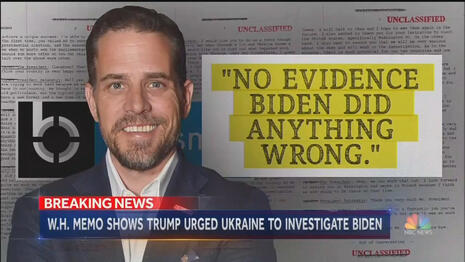 Nets in 2019: 'NO EVIDENCE' Hunter Biden Did Anything Wrong!