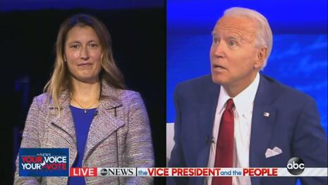 PATHETIC ABC Plays Footsie with Biden, Treats Him to Evening of Soft Questions