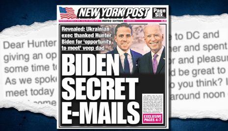 Politico Spins Hunter Biden Email Story as Possible Russian Disinformation
