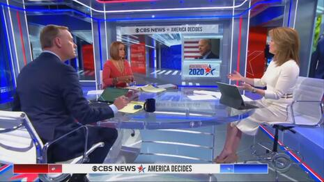 Post-Debate CBS Barely Mentions Sleazy Hunter, Tries to Haul Joe Past Finish Line