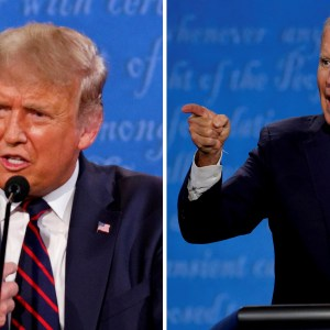 Trump & Biden -- Ever Wish You Could Vote against the Greatest Evil?