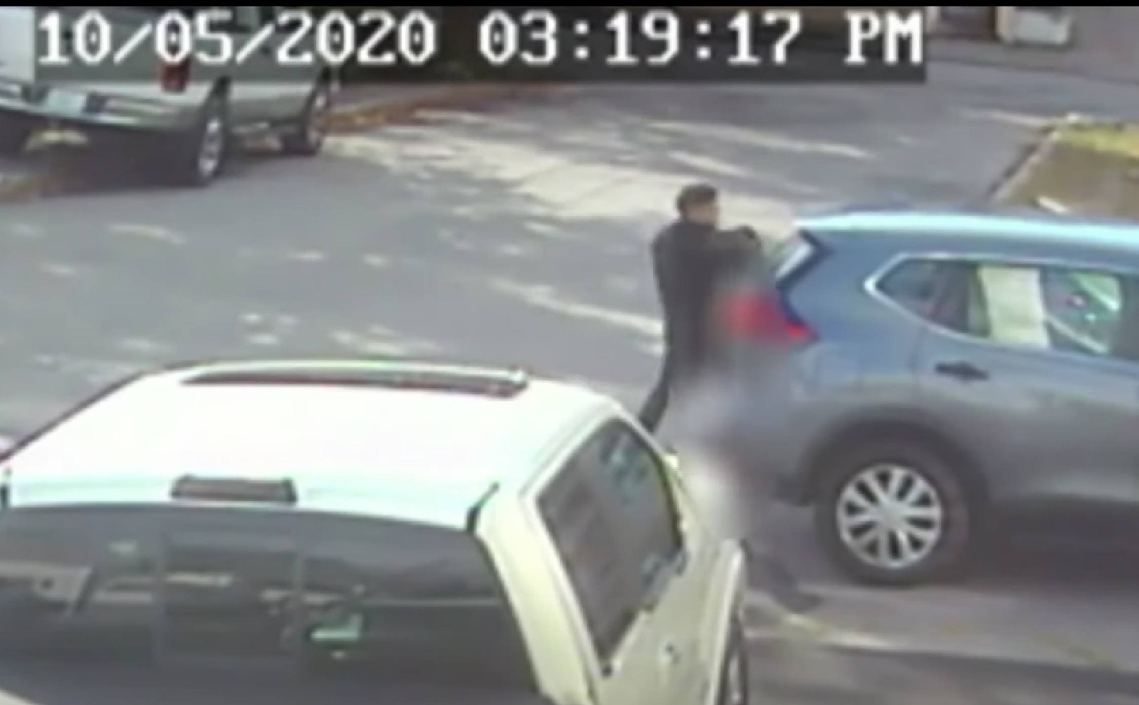 [VIDEO] Chilling Moment Stranger Kidnaps 9-Year-Old Little Girl After She Gets Off School Bus Caught on Tape
