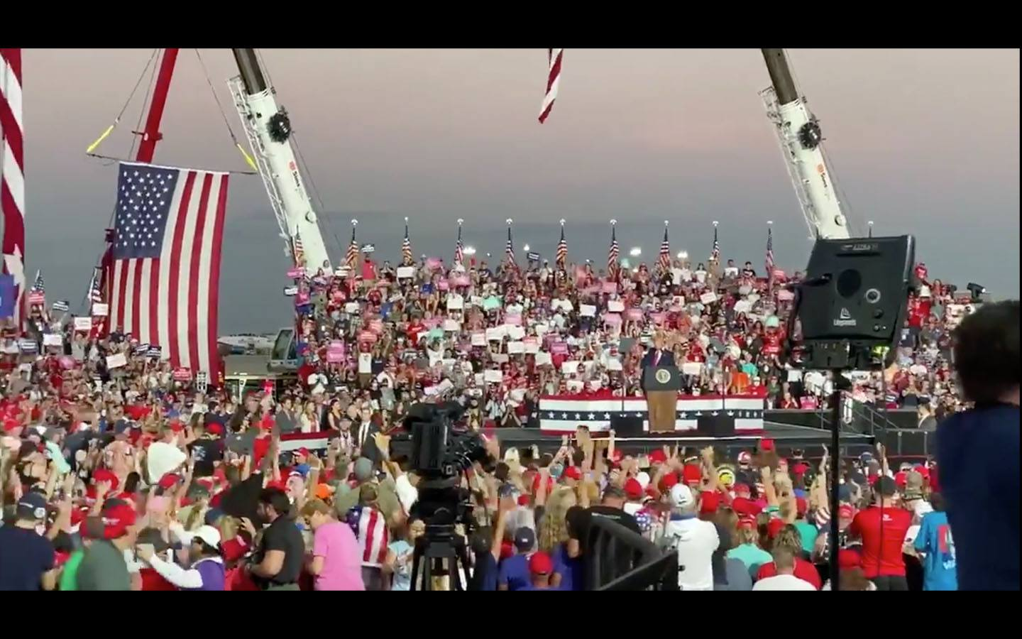 [VIDEO] Trump's First Post COVID Rally Makes Liberal Heads Explode