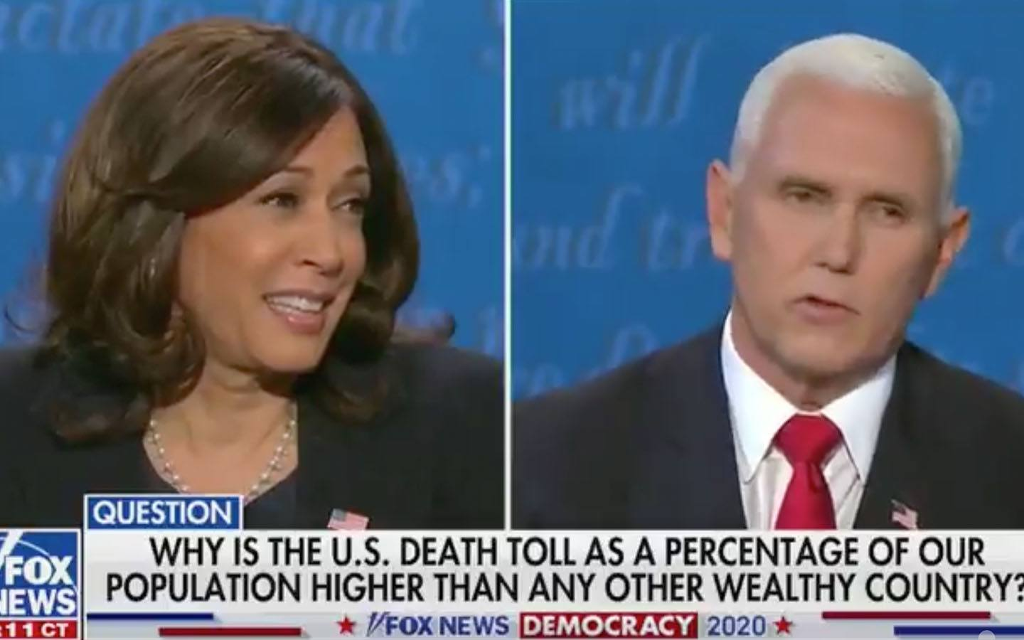 [WATCH] This One Powerful Line From Pence is What Won Him the Debate Against Kamala Harris