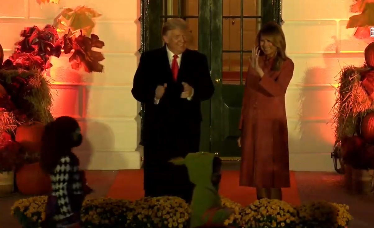 Watch: The President and First Lady Host the 2020 White House Halloween Celebration - 10/25/20