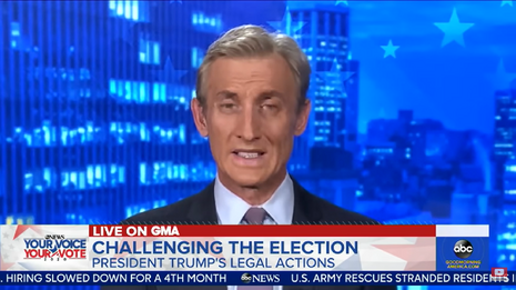 ABC's Dan Abrams Worries that Trump Could Still 'Steal This Election'