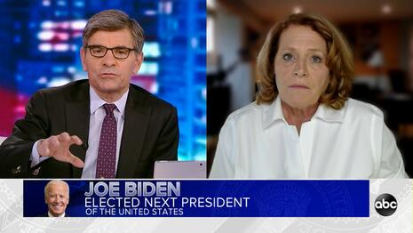 After Declaring Biden Winner, ABC Stokes Fears of Violent Trump Supporters