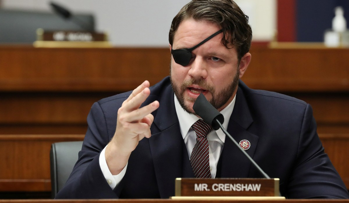 Dan Crenshaw Spars with Rep. Taylor Greene over Trump's Fraud Claims: 'Start Acting' Like a Congresswoman