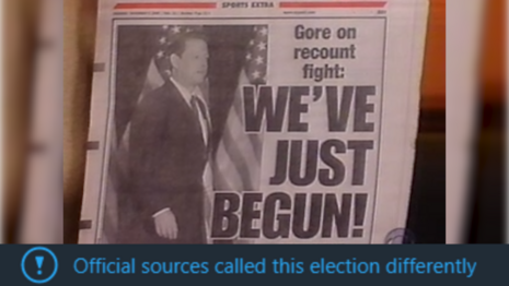 FLASHBACK: the Media Saw Evidence of Voter Fraud Everywhere 20 Years Ago
