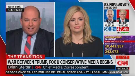 OH PLEASE: CNN's Brian Stelter Laments Rise of News Bubbles, Echo Chambers