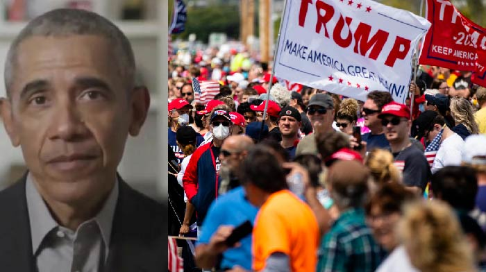 The Former Divider in Chief is Once Again Gloating and Trashing Over 70 Million Trump Voters