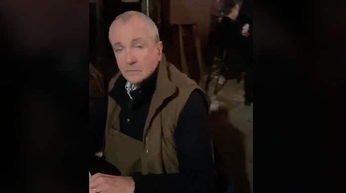 [VIDEO] Furious Citizens Cuss Out NJ Governor Phil Murphy While He Eats Dinner With His Maskless Family