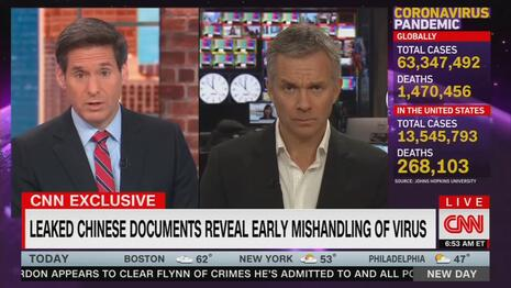 Surprise! CNN Finally Discovers China Lied About COVID Mishandling