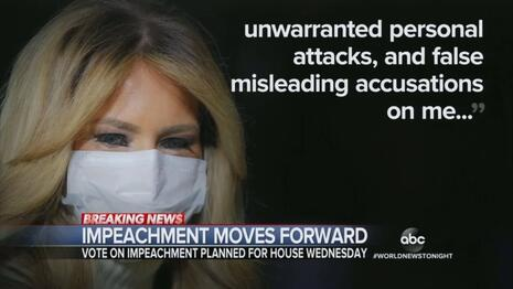 ABC Chides First Lady's Statement on Capitol Attack, Ignores Condolences