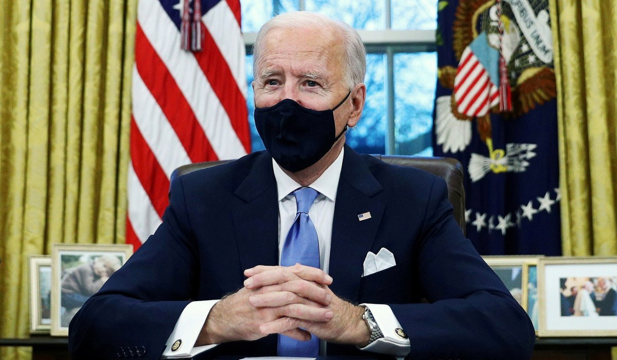 As Far as Biden Is Concerned, WHO Doesn't Have Any Problems