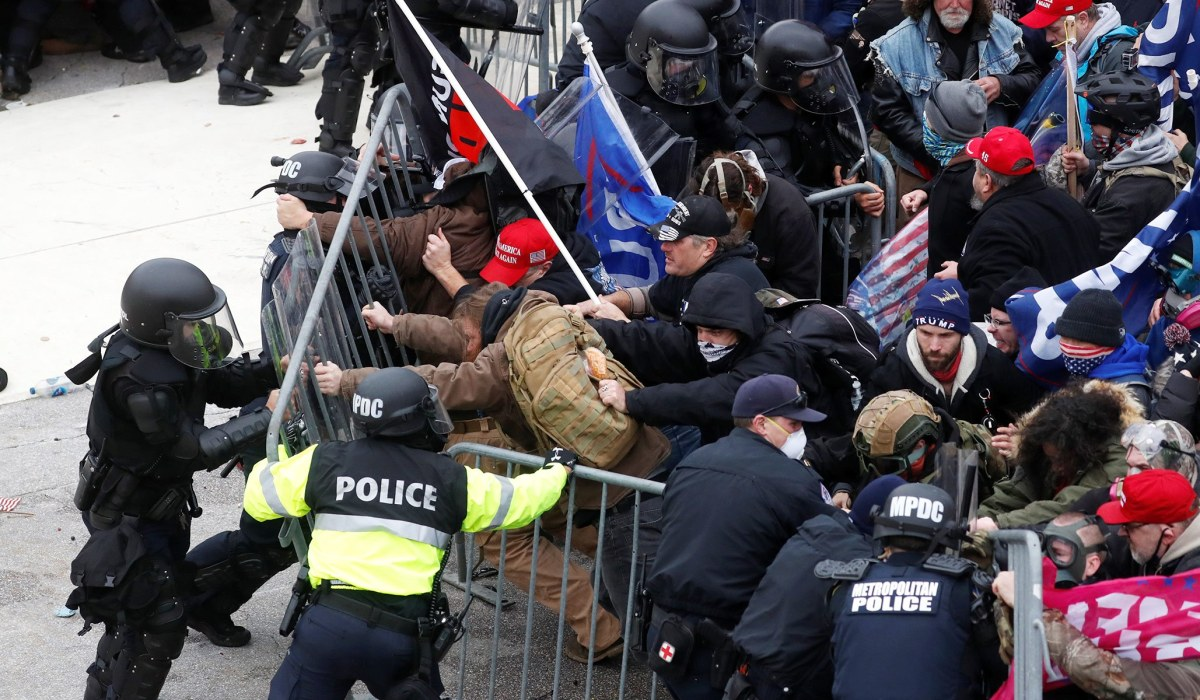 FBI: 'No Indication' That Antifa Was Involved in Storming of U.S. Capitol