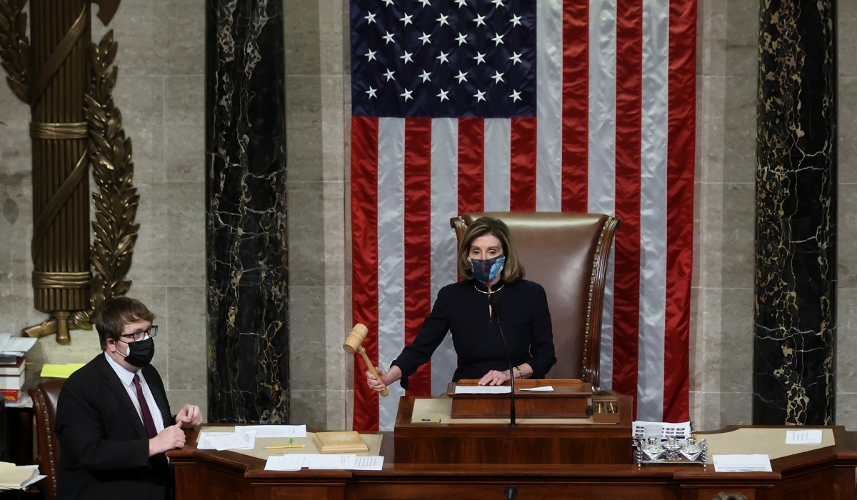 House Impeaches Trump for Second Time, in Historic Rebuke over Capitol Riot