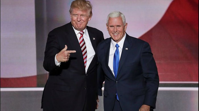 Juicy Details Come Out From Today's Meeting Between Trump and Pence