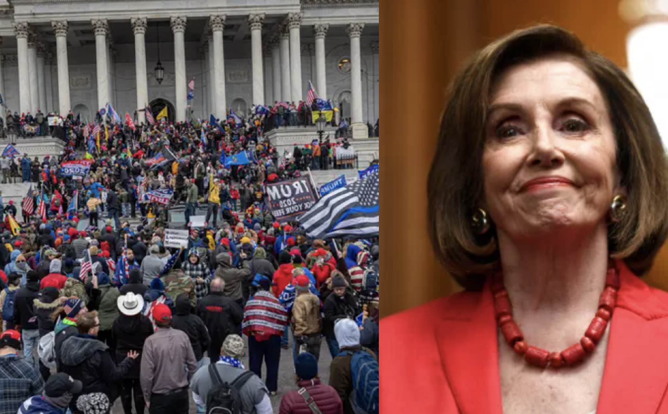 "Pelosi Delivers Most Ruthless and Divisive Statement Yet On ""Capitol Riots"" ... Here We Go Again"