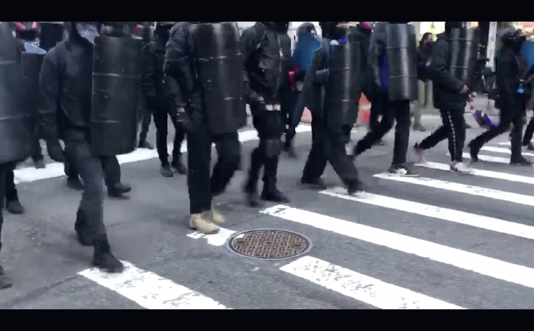 """[VIDEO] Antifa Takes Over Streets Of NYC """"Military Style,"""" Claims """"Ownership"""" of Public Areas"""