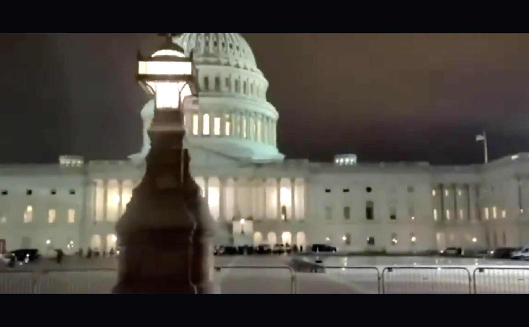 [VIDEO] Check Out This Creepy Nightmare Scene Unfolding at The Nation's Capitol