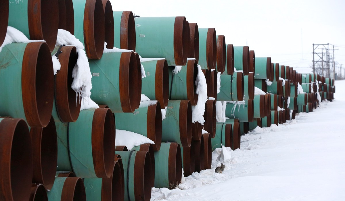 Biden's Keystone Pipeline Decision -- 14 State AGs Claim It 'Will Result in Devastating Damage'