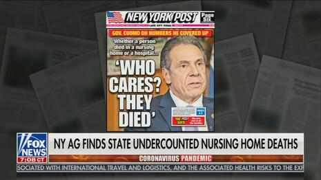Fox News Calls Out Media for Skipping Report on Cuomo's COVID Mishandling
