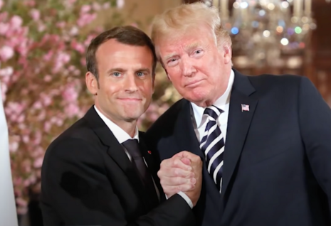 French President 'Very Upset' Big Tech Undemocratically Censored Trump, His Supporters