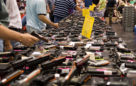 Gun Sales Surge As Americans Continue To Feel Uncertain About Biden