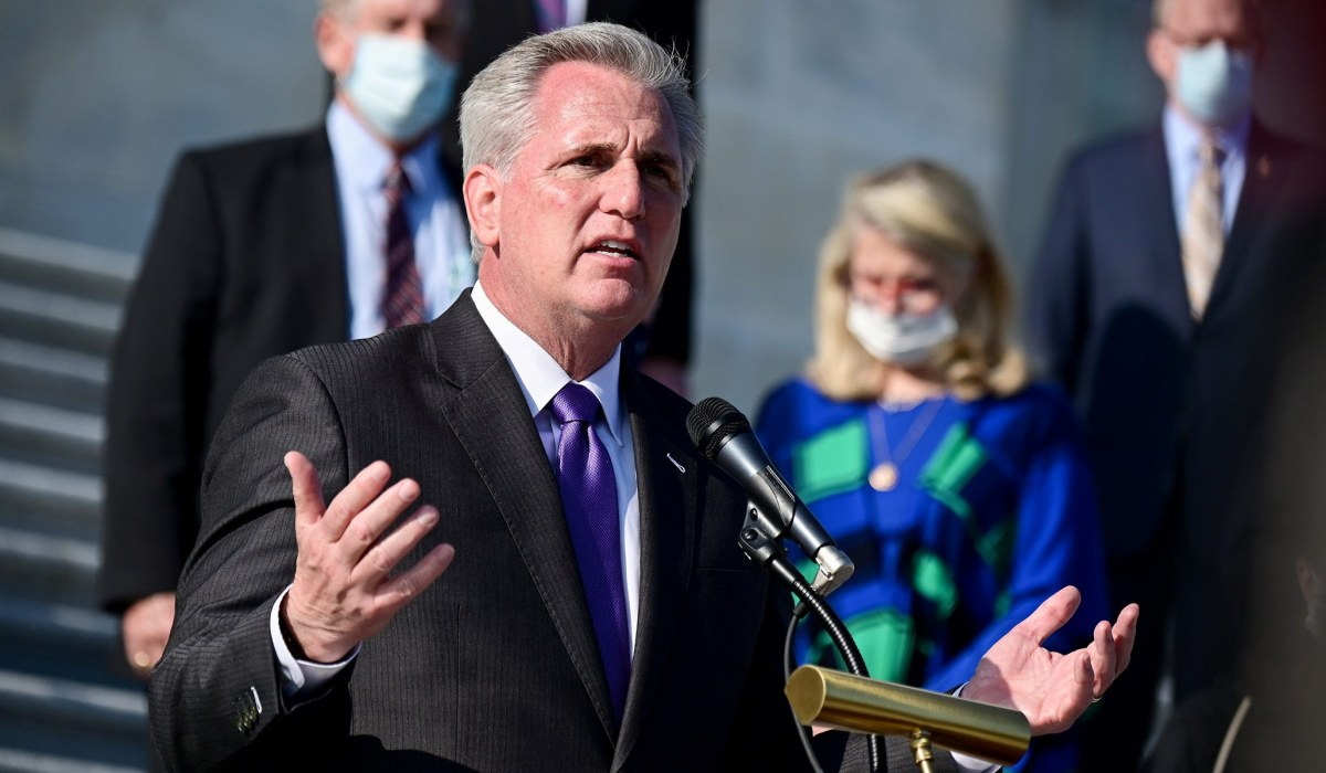 House Minority Leader McCarthy Refuses to Remove Taylor Greene from Committees, Attacks Dems for Rejecting Compromise