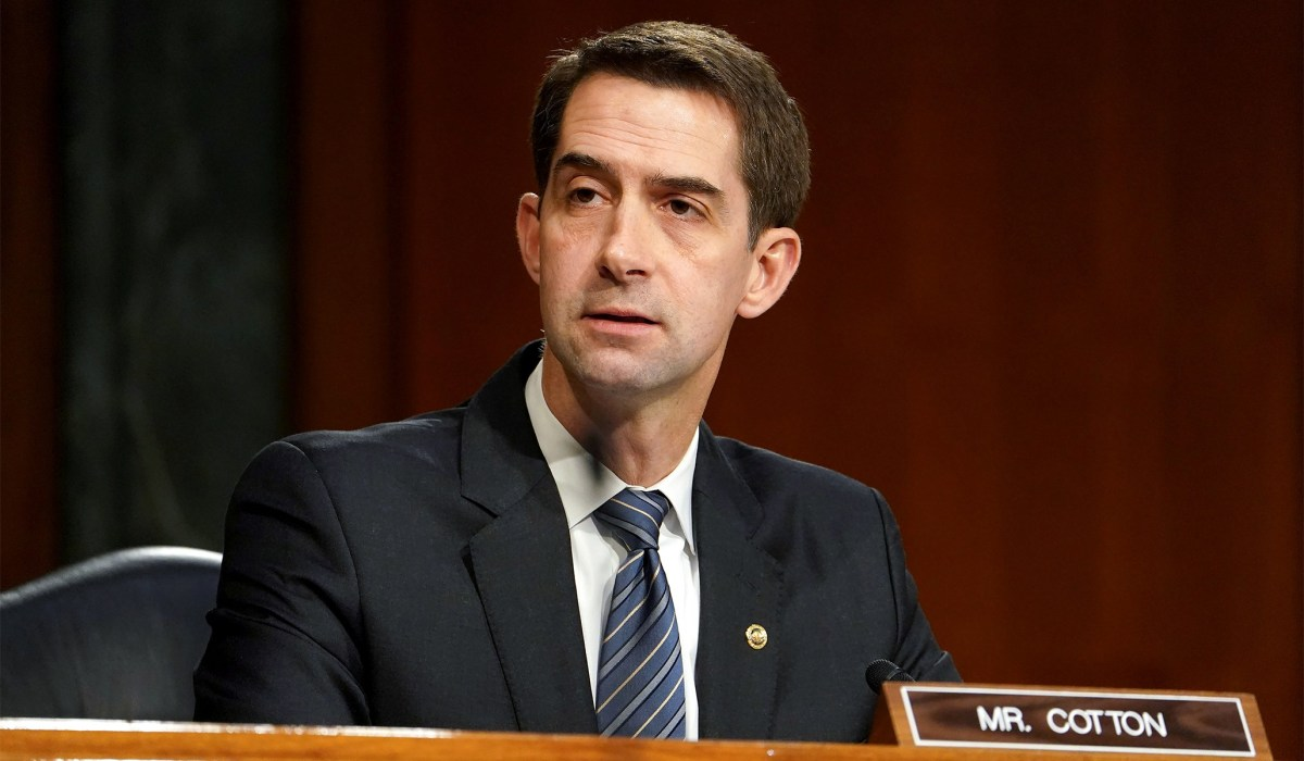 Tom Cotton Tries to Force Dems to Vote on Court-Packing