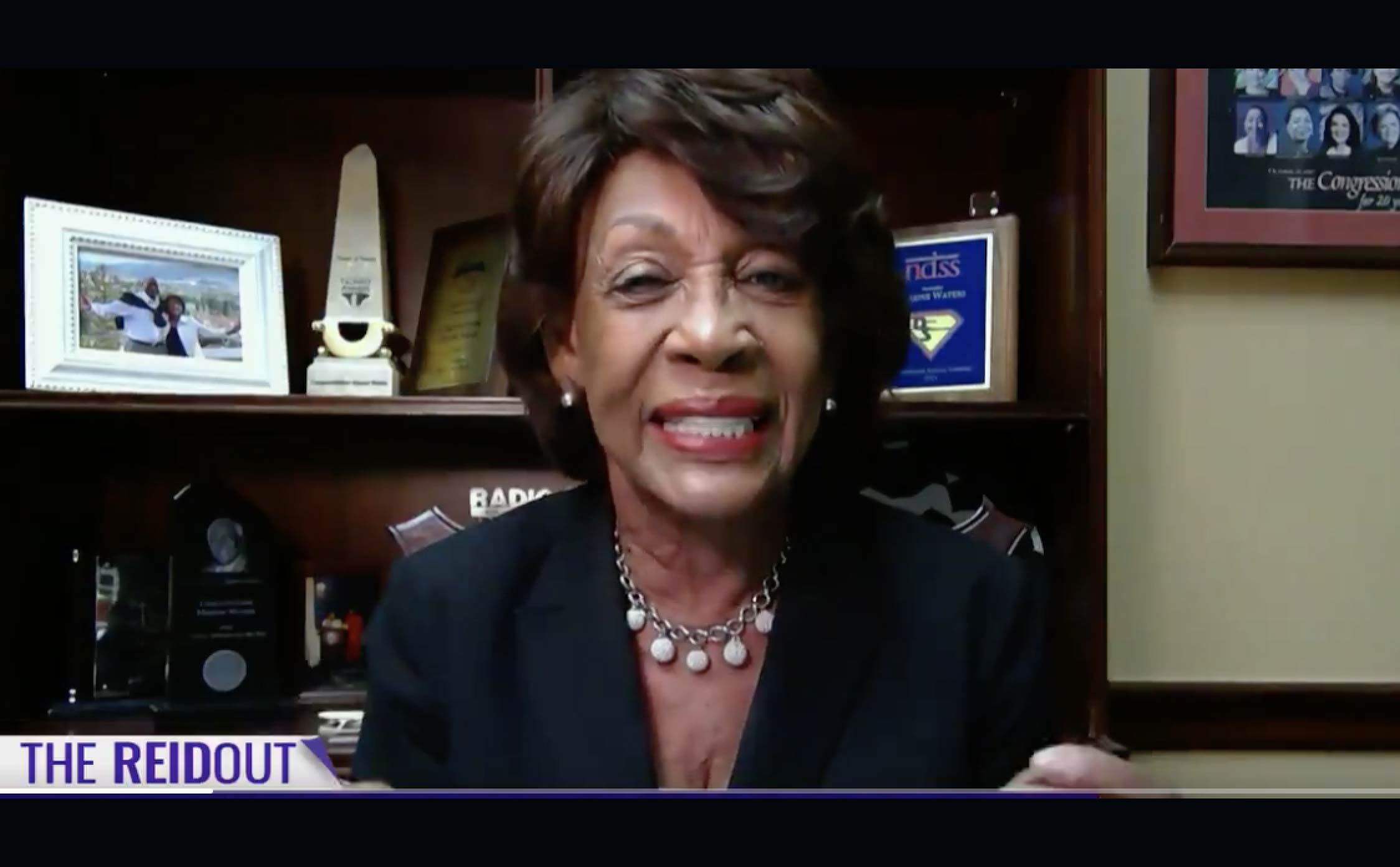"""[VIDEO] Maxine Waters Latest Crazy Claim About Trump Calls Her """"Sanity"""" Into Question"""